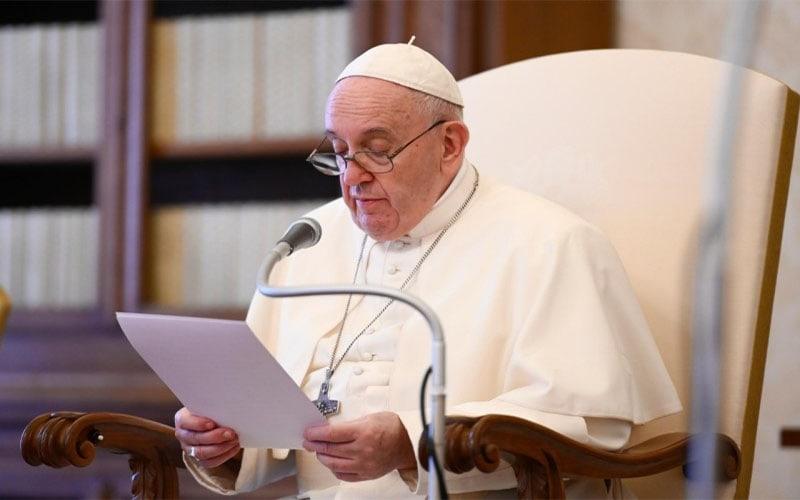Papa Francisco   Aprendemos de Abraham a orar con fe, pero siempre dispuestos a aceptar la palabra de Dios y ponerla en práctica