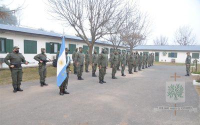 Santa Fe | En el 20° Aniversario del Escuadrón 46 de GNA Rosario Victoria fue entronizada la imagen de Ntra. Sra. de Luján Patrona de la Fuerza