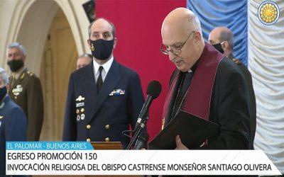 Mons. Olivera | Señor que has llamado a estos jóvenes, te pedimos que los sostengas en sus ideales, que su presencia nos hable del amor por la Patria, para construir un país de hermanos