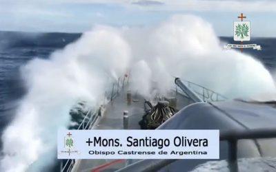 Mons. Olivera | Quiera Dios que al celebrar un año más de la Armada Argentina, nos renueve en un trabajo sincero por la fraternidad