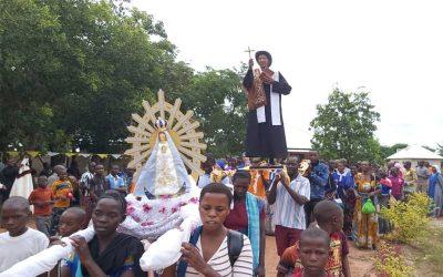 Mons. Olivera | Que Brochero esté en África, nos llena de gozo, de emoción, de ver que su figura, su devoción, su vida su obra se va extendiendo