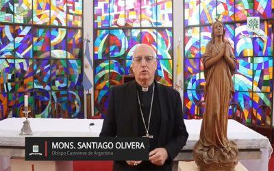 Mons. Olivera   En este día queremos agradecer la presencia y el servicio de ustedes por nuestra Patria