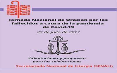CEA | Jornada Nacional de Oración por los fallecidos a causa de la pandemia de Covid-19