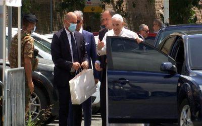 Vaticano | El Santo Padre Francisco recibió el alta médica y ya se encuentra en Casa Santa Marta